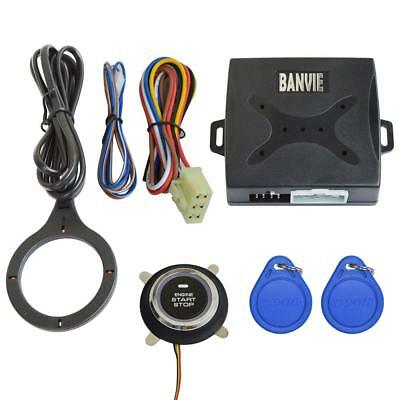 Car Alarm Keyless Entry Starter Remote Start Stop Engine System Ignition Button