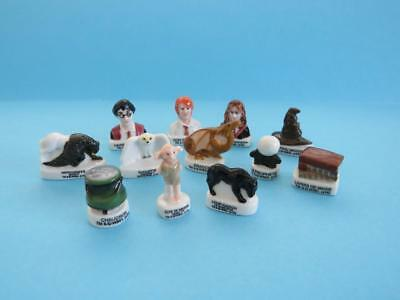 New 2019 Miniature Porcelain Harry Potter/'Dragon'hippogriffe,Dobby,Magic Hat
