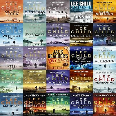 'Jack Reacher' The Complete Audiobook Collection ~ on USB Drive