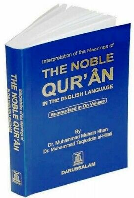 Noble Quran (Pocket Size) Arabic to English 34gm softcover Darussalam