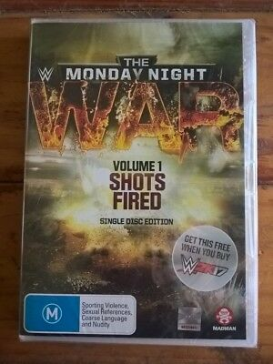 WWE The Monday Night War Volume 1 DVD Single Disc Edition Region 4 W2K18 W2K17