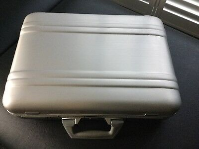 "Zerohalliburton Aluminium Brief/Attache Case 4""x 13""x18"""