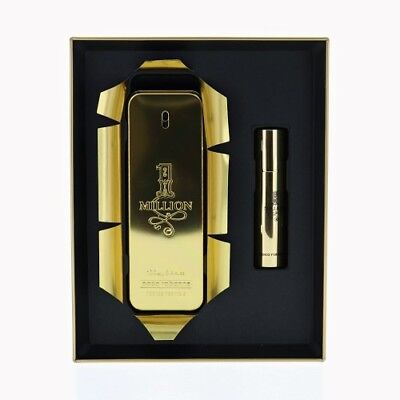 Paco Rabanne 1 Million 2 Piece Gift Set with 3.4 Oz by Paco Rabanne NEW For Men