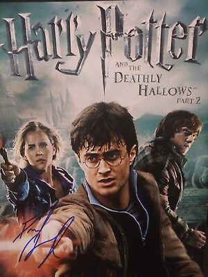 Daniel Radcliffe Harry Potter 11x14 Signed Autographed Photo COA