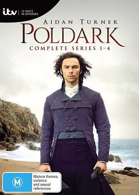 Poldark Series Complete Seasons 1-4 DVD : NEW