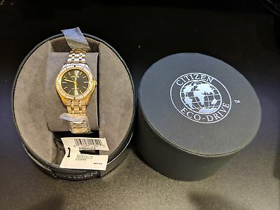 Citizen Eco-Drive Women's Carina Gold-Tone Diamond Watch EM0242-51E