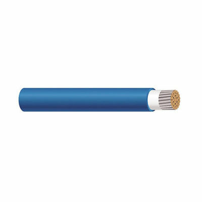 56969401 12 AWG 1C Stranded TC Blue Cotton Braid TelcoFlex III Cable