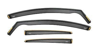 HONDA C-RV CRV mk3 5 DOOR 2007 - 2012 WIND DEFLECTORS 4pc ISPEED TINTED