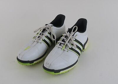 c9633a20c1f99 ADIDAS MEN'S TOUR 360 Boost 2.0 Golf Shoes Size 10.5 M White Gray Fluo  Yellow