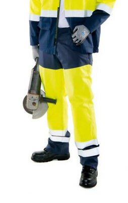 Roots RO19295HV FR Trousers Hi Vis Arc Flash Protection Flame Retardant Size 32""