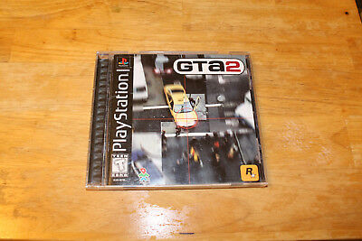 Grand Theft Auto 2 GTA2 ps1 psx psone USED COMPLETE