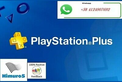 PS PLUS 3 Month (6x14) DAY TRIAL - PS4 - PS3 - (NO.CODE)