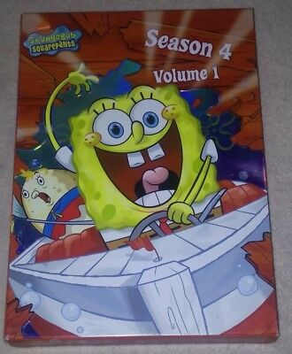 SpongeBob SquarePants DVD Set Season 4 Volume 1
