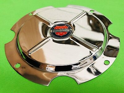 Super Lusso 10 Inch Wheel Disc Cover Lambretta Shield Logo