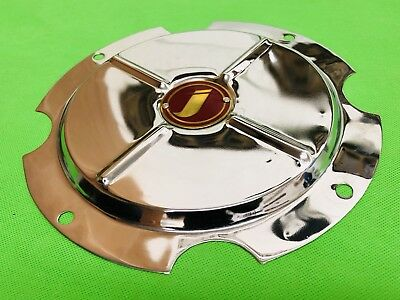 Super Lusso 10 Inch Wheel Disc Cover Lambretta Innocenti Logo