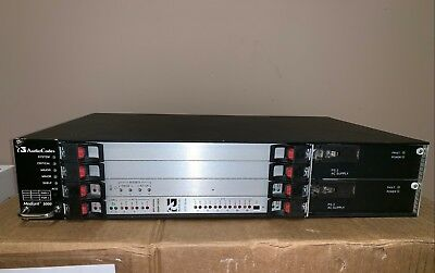 Audiocodes Mediant 3000, 3x T3 DS3  STM1 SS7 SBC VoIP gateway SIP media tp6310