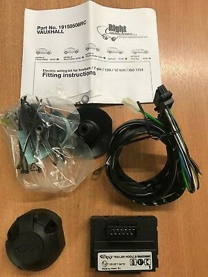 Pleasant Witter 7 Pin Towbar Wiring Kit Vauxhall Astra H Hatch 2004 2009 With Wiring 101 Cranwise Assnl