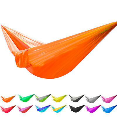 Hammock Hiking Carry Bag Hook Kit Single Person Portable Camping Outdoor Swing