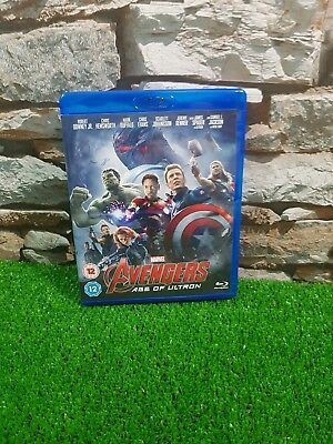 Marvel Avengers Age of Ultron Blu-Ray Free P&P