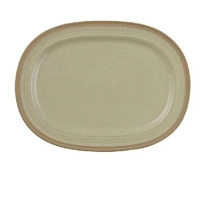 Pack of 5 Churchill Igneous Stoneware Oval Plates 320mm