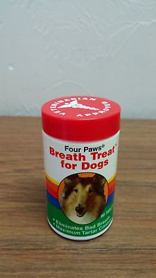 Four Paws Breath Treat for Dogs 60 tabs