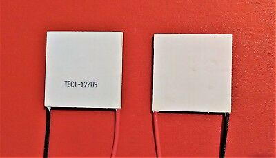TEC TEC1-12709 136.8W max Thermoelectric Cooler Peltier Plate 12V - 15.2V 9A UK