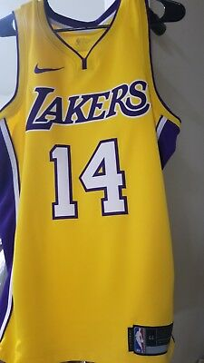 419435667 Los Angeles Lakers Brandon Ingram Nike NBA Men s Icon Swingman Jersey  (MEDIUM)