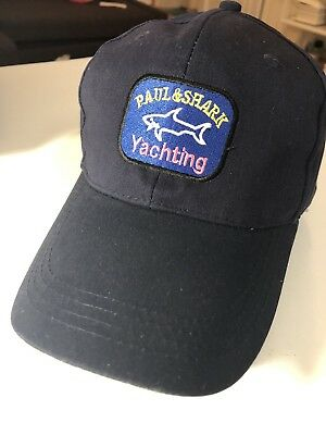 PAUL SHARK YACHTING Style Sport Baseball Cap New Hat Black -  32.90 ... afc1fa02cf2e