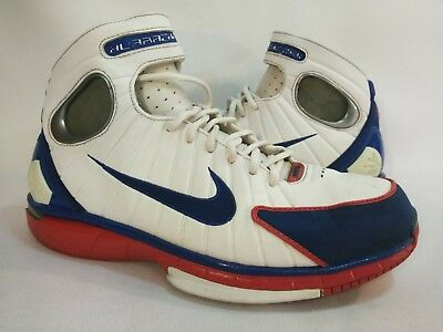 new styles 3f4f9 8c20b Nike Air Zoom Huarache 2K4 Mens Shoes Size  9.5 Red White Blue 308475 100