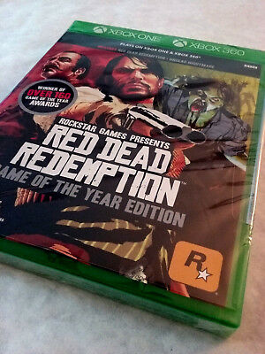🔥 NEW Red Dead Redemption: Game of the Year Edition - Xbox One and Xbox 360