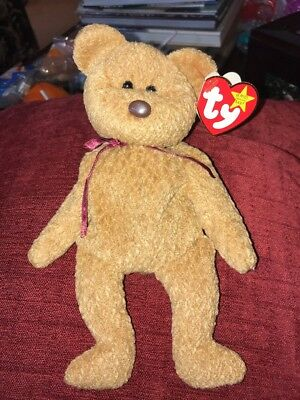 CURLY TY RARE Beanie Baby with tag errors -  250.00  3e63e5bf4ab