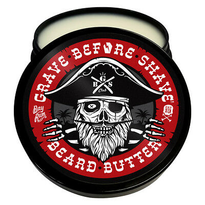 Grave Before Shave Beard Butter (Bay Rum Blend)