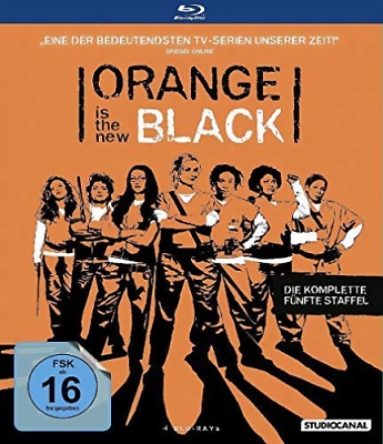 Orange is the New Black - 5. Staffel [4 BRs] - (GERMAN IMPORT) BLU-RAY NUEVO
