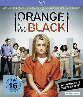 Orange is the New Black - 1. Staffel [4 BRs] - (GERMAN IMPORT) BLU-RAY NUEVO