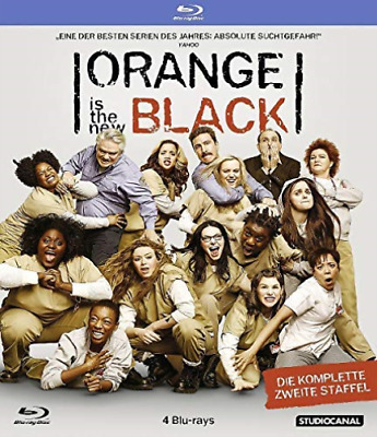 Orange is the New Black - 2. Staffel [4 BRs] - (GERMAN IMPORT) BLU-RAY NUEVO