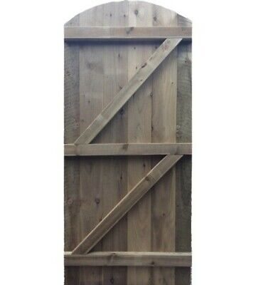 Wooden Garden Bespoke Made To Measure Gate -Door.green-Treated Timber,Solid Wood
