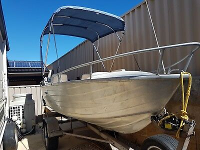 Bermuda 14 ft. Aluminium Dinghy - Deep V (NO MOTOR)