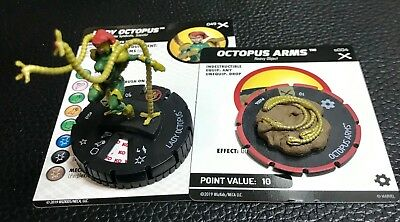 Marvel HeroClix Earth X Lady Octopus Super Rare 049 & Octopus Arms s004