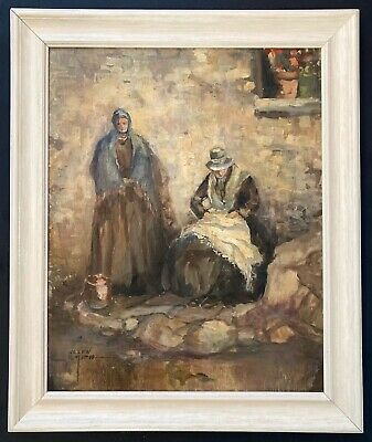 Vintage 20th Century Oil Painting by Canadian Artist Helen Smith SIGNED