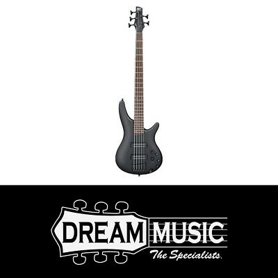 Ibanez SR305E BWK Electric Bass Guitar Weathered Black 2019 SAVE $160off RRP$799