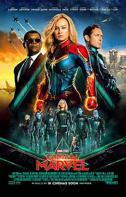 "Captain Marvel ( 11"" x 17"" ) Movie Collector's Poster Print ( T9) - B2G1F"