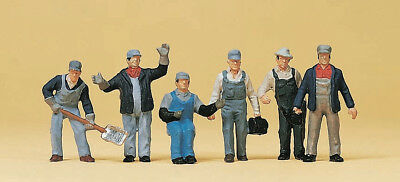 HO Scale People - 10453 - US Freight Train Personnel