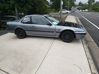 Honda Prelude - hubcaps are included but not installed