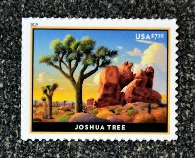 2019USA #5347 $7.35 Joshua Tree - Priority Mail  -  Mint  NH