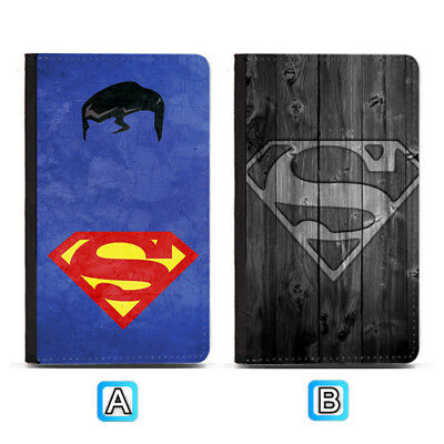 Superman Superhero Passport Holder Travel PU Leather Cover Case ID Wallet