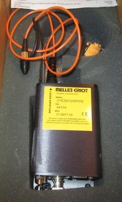 Melles Griot 781 nm 46.2 mW Diode Laser Driver Source Fiber Coupled 57ICS010 CVI