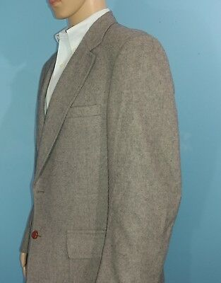Diamonds Gray 100% Camel Hair Blazer Sports Coat Suit Jacket Size 44R?