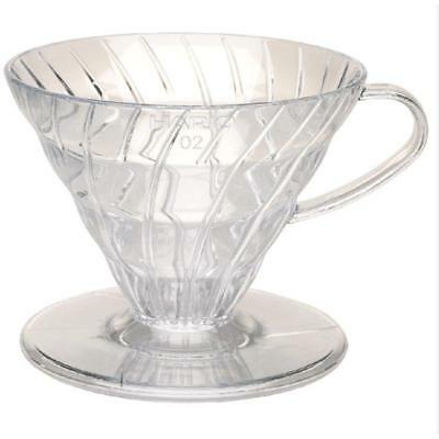 HARIO VD-02T V60 02  Pour Over Coffee Dripper with Coffee Scoop 1-4 cup