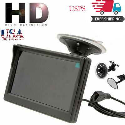 "800*480 TFT LCD HD Screen Monitor For Car Rear Reverse Backup Camera 5"" MR-"