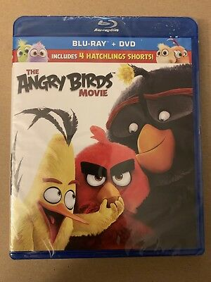 "The Angry Birds (2016): Brand New Blu-Ray + DVD ""FAST SHIPPING!!!"""